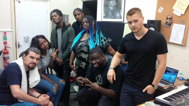 Young People Receive a Master Class in Music Production by MOBO Award Winner