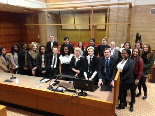 Boswells Academy Trust raise the bar at National Mock Bar Trial Competition