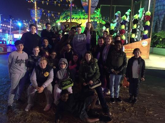 #CrystalAwards: Young Carers are treated to spooky theme park adventure