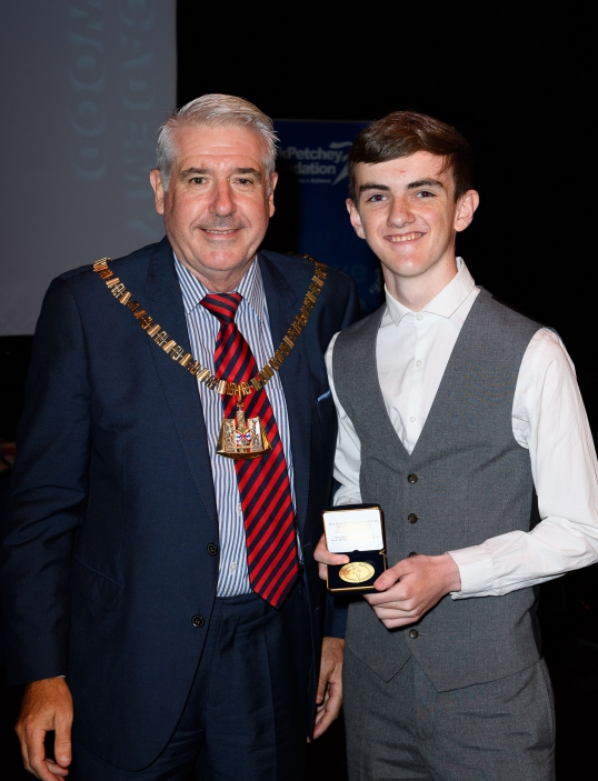 16-year-old receives Achievement Award for incredible charity fundraising!