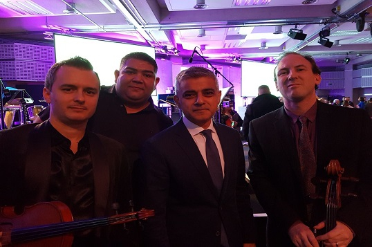 Mayor of London among audience for young music group at Holocaust Memorial Service