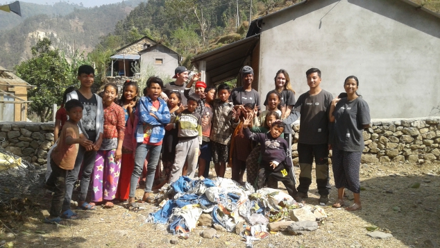 Timi helped to set up youth and womens groups in Nepal