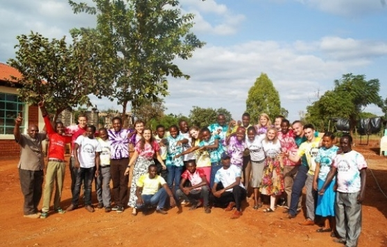 Student volunteer helps to raise over £140,000 for a school for deaf children in Kenya.