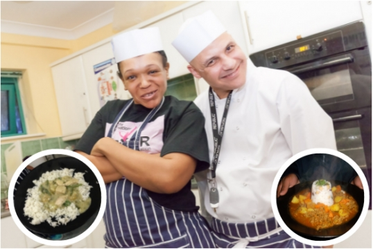 Young people enjoy weekly cooking lessons thanks to Jack Petchey grant