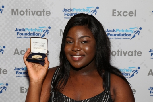 Jack Petchey Achievement Award winner starts her own charity