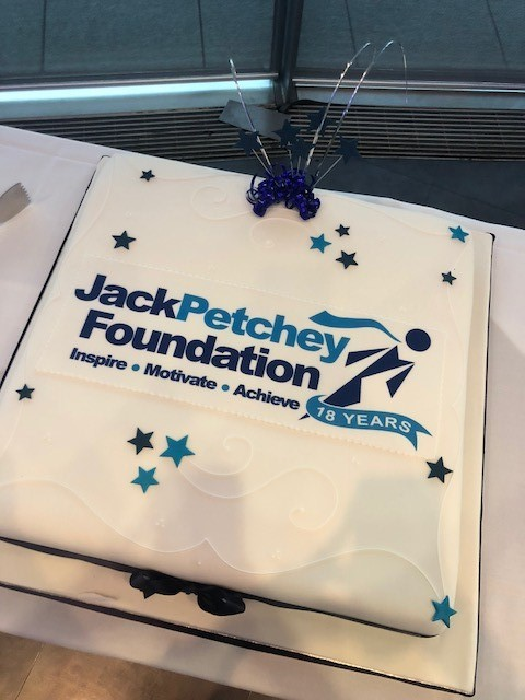 I helped to celebrate the Jack Petchey Foundation's 18th Birthday!