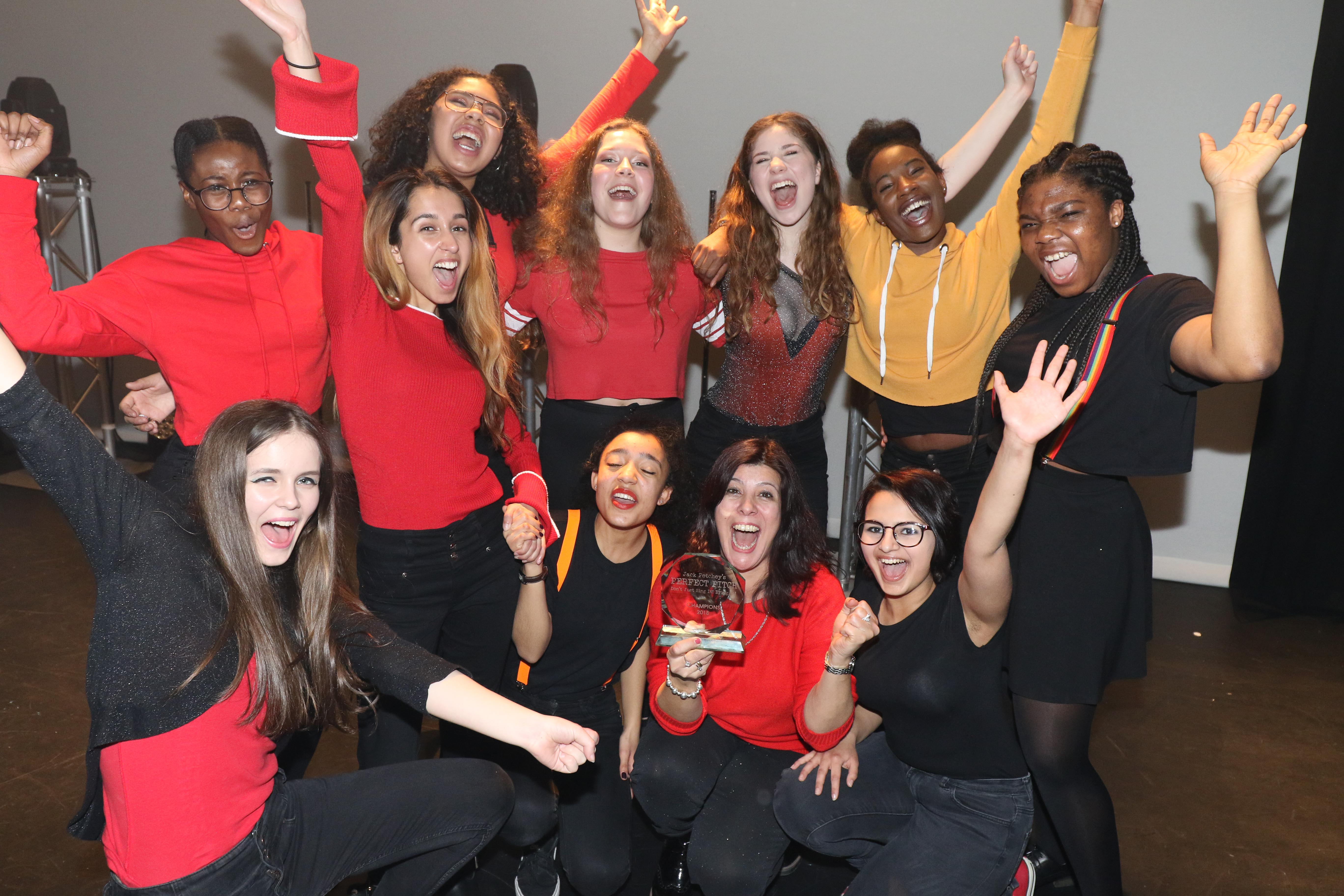 Hackney school win prize at Jack Petchey's Perfect Pitch acapella competition