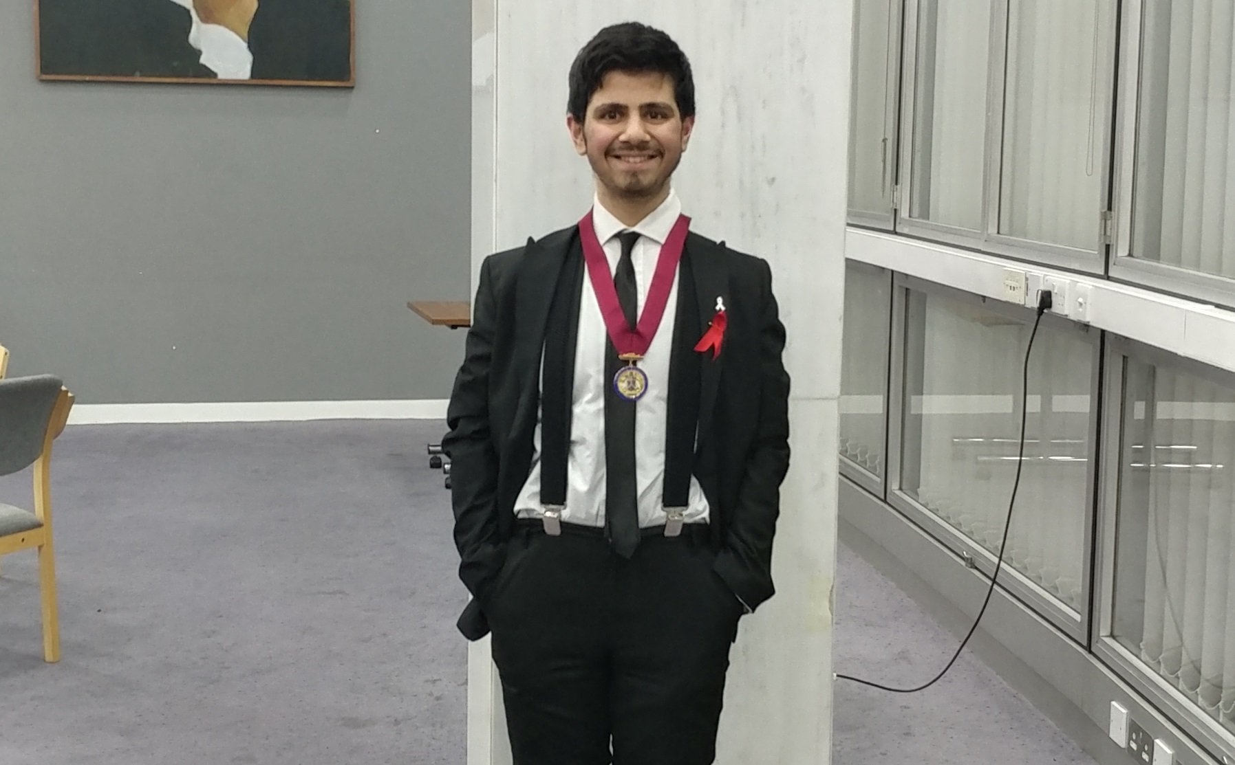 From Achievement Award winner to Young Mayor- Adam Abdullah