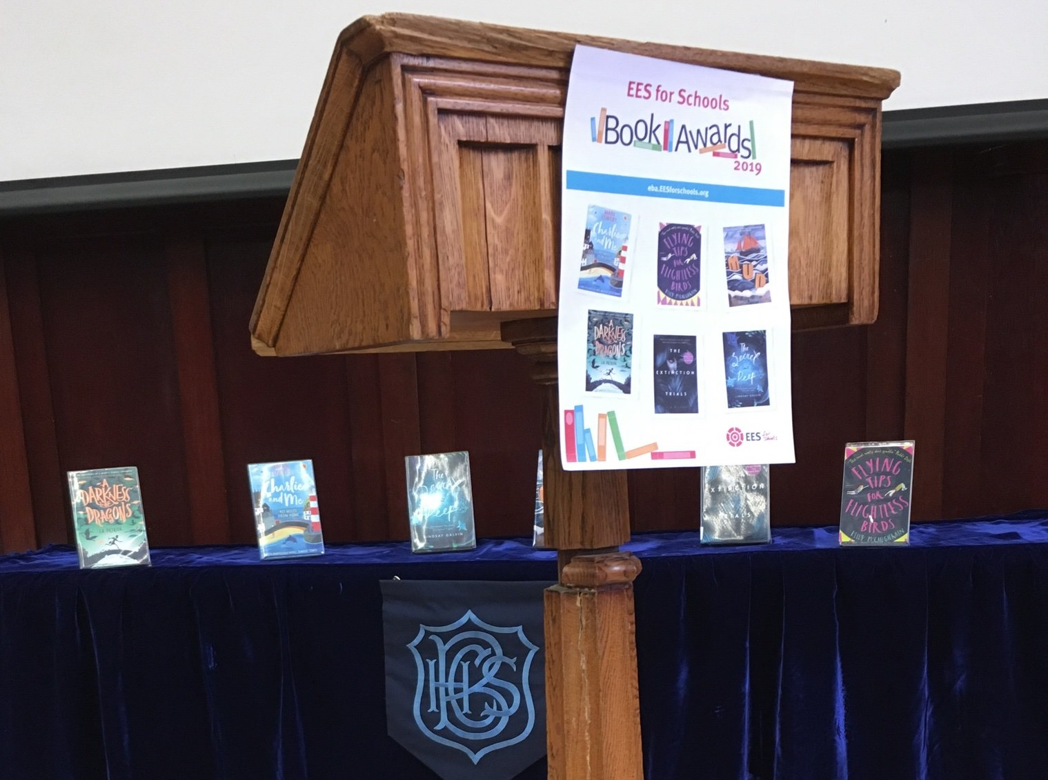 Brentwood County High School host annual book awards!