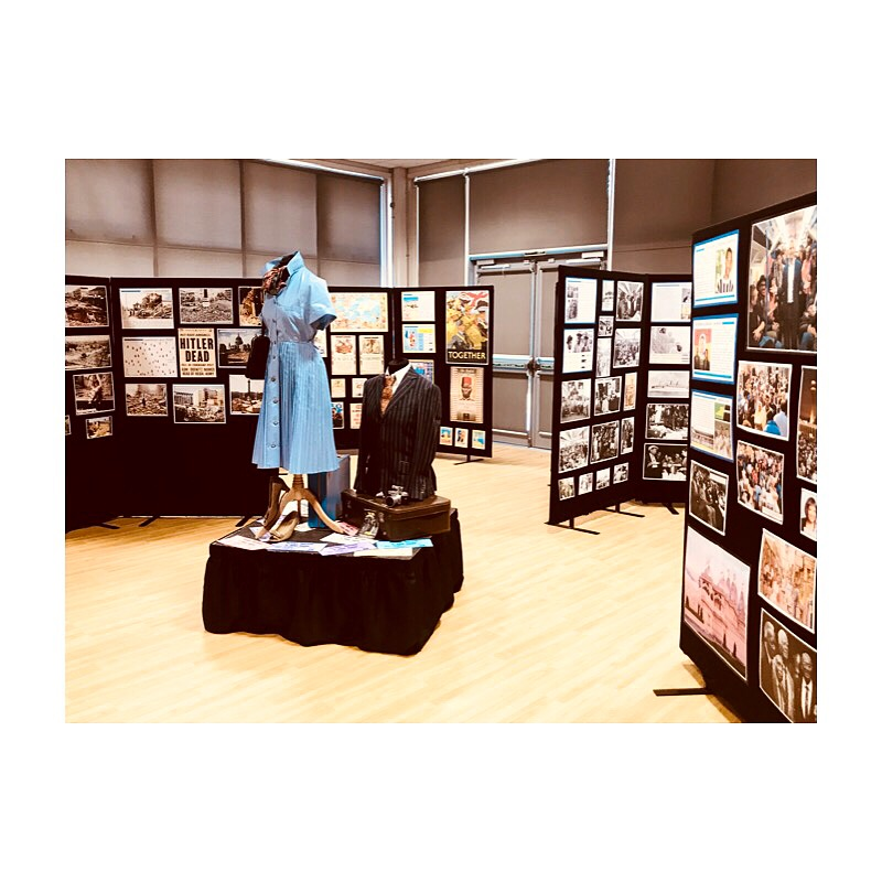 Students curate their own history exhibition!