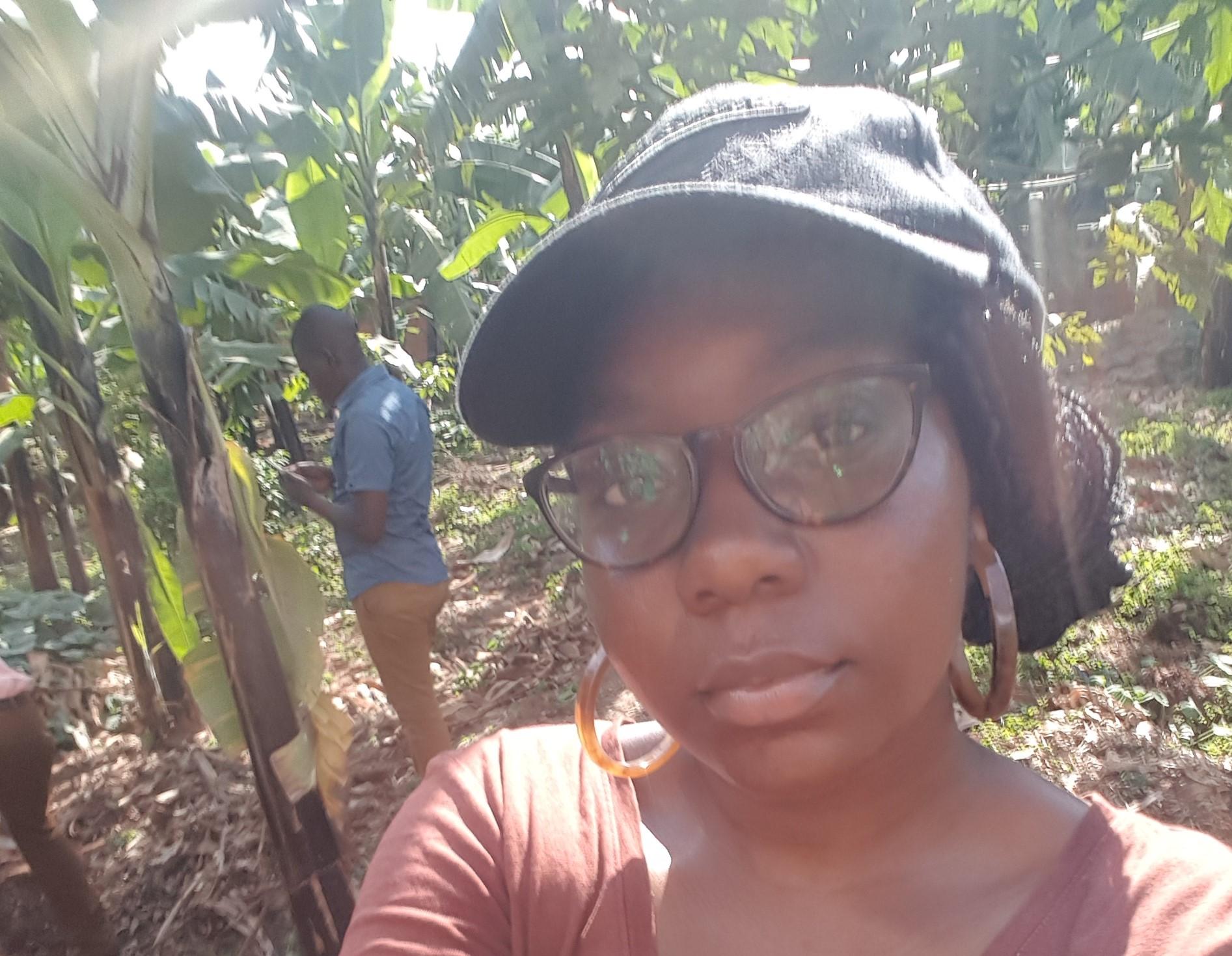 Idayat Odeleye tells how an IGFV helped her volunteer in Uganda