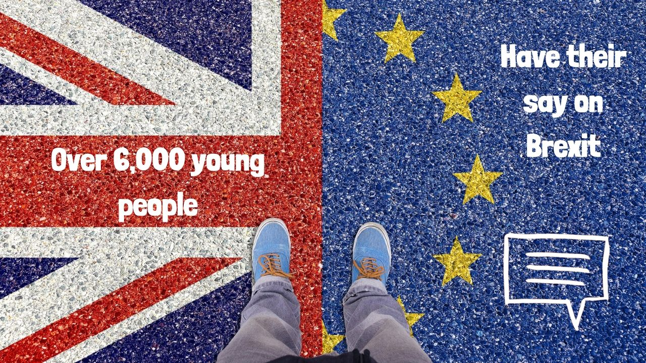 Over 6,000 young people respond to survey on Brexit in just 10 days…here is what THEY think