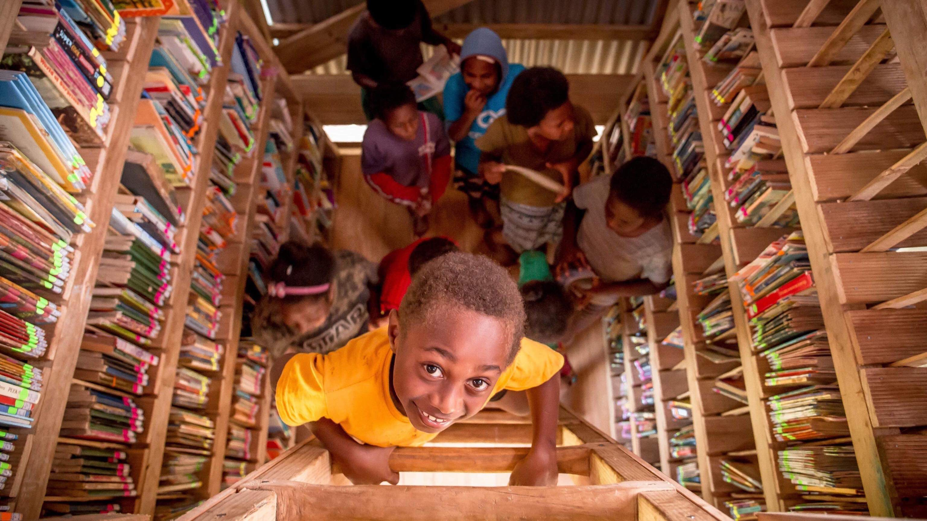 Showing girls they can do anything through building a cyclone-resistant library
