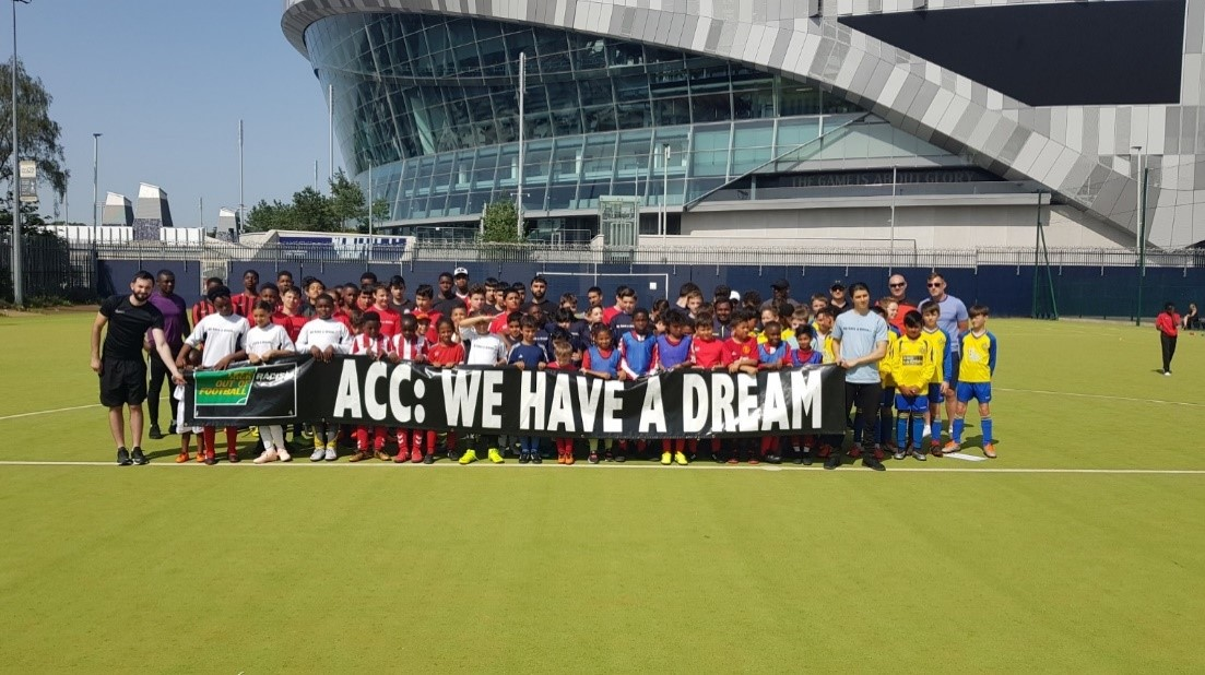 Football shows vision through community day