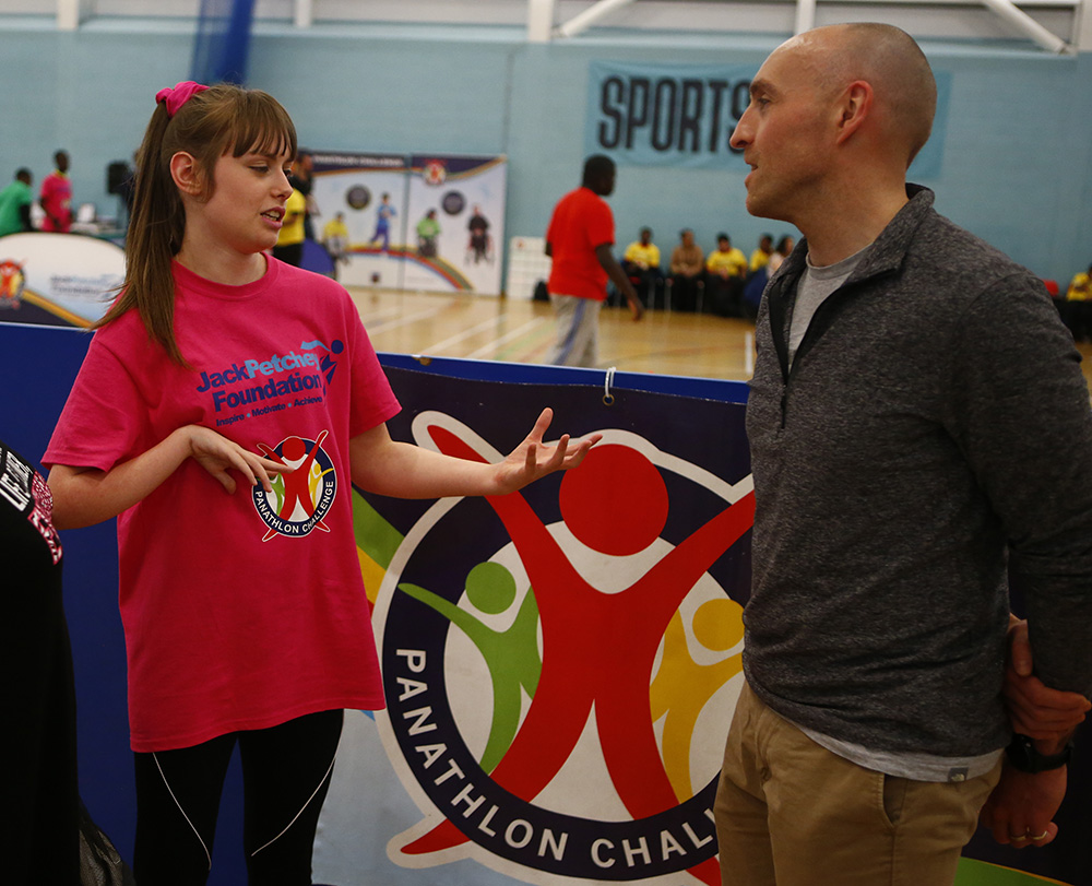 Georgina & Sue on what Panathlon Challenge means to them