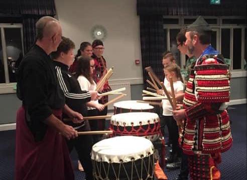 Maru Karate Kai uses Leader Award Grant for Taiko Drumming Workshop