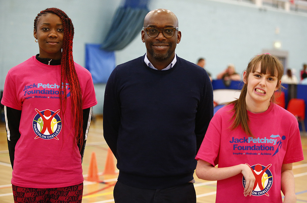 Panathlon – the partnership changing disabled young people's lives
