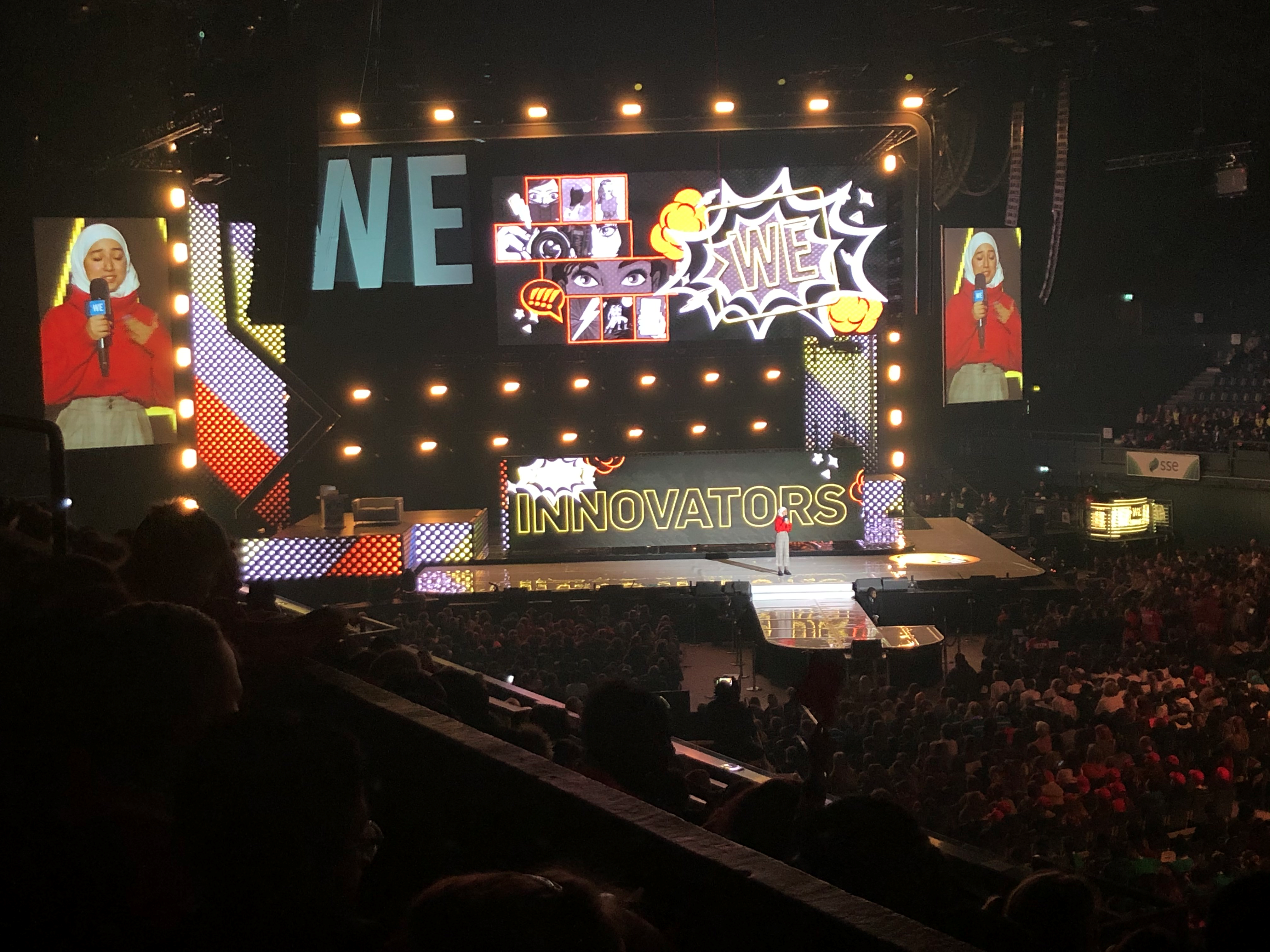 """""""What's Your Superpower?"""": JPF Intern Eleanor invited to #WEday"""