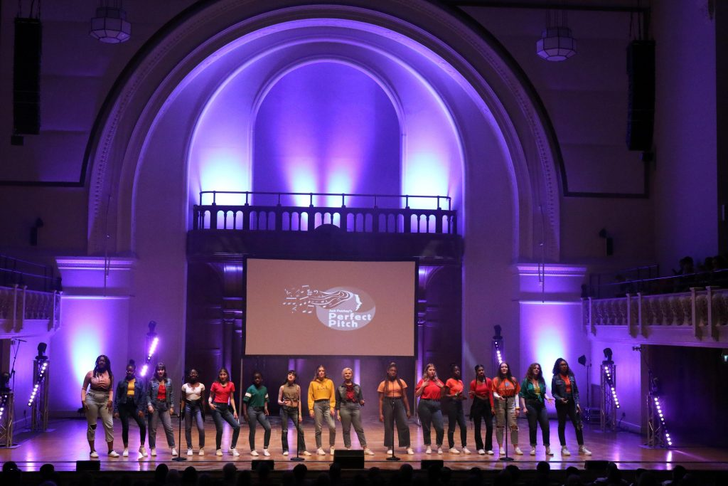 Perfect Pitch and the growth of a cappella – no instruments, no tracks, just voices!