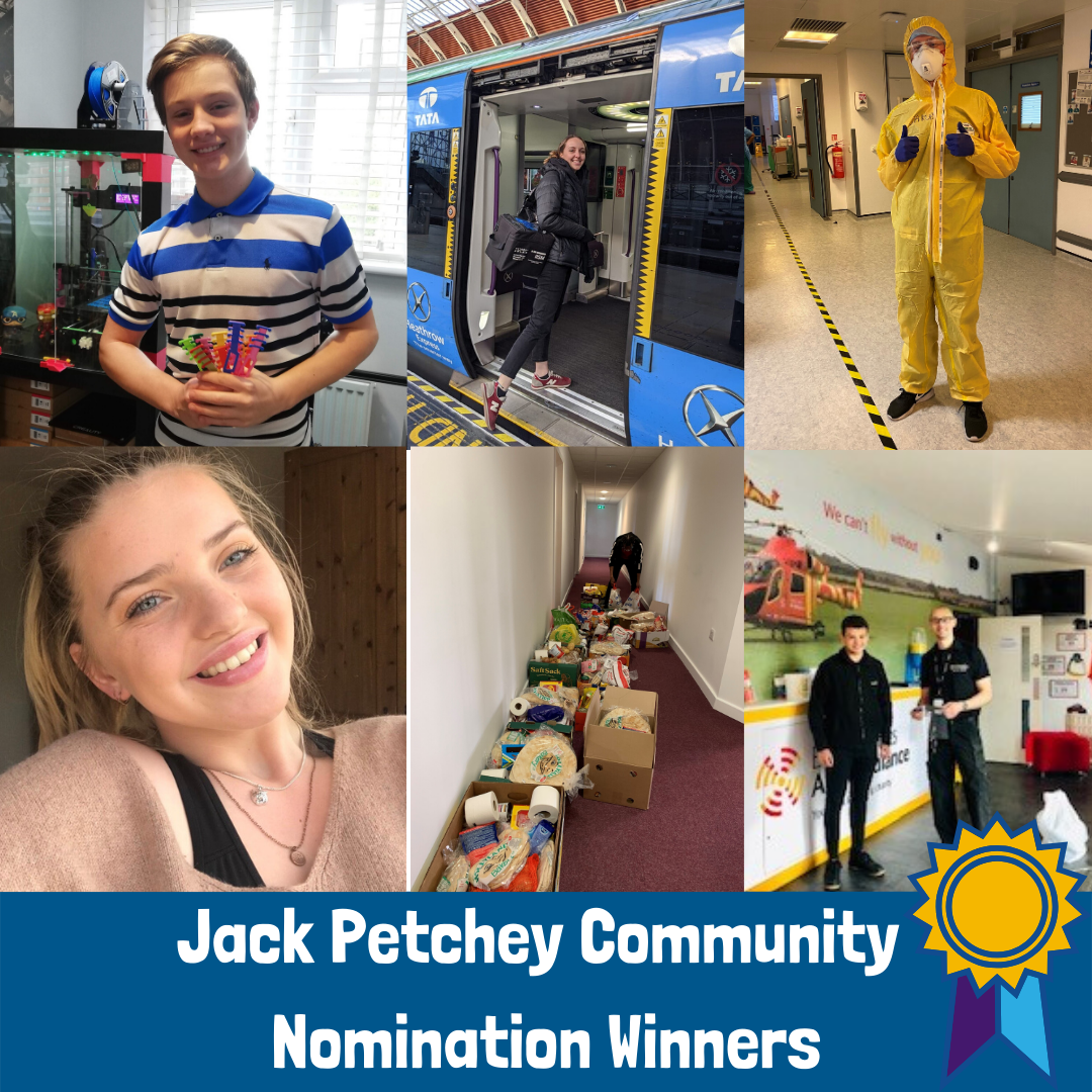 Our latest Community Award winners!