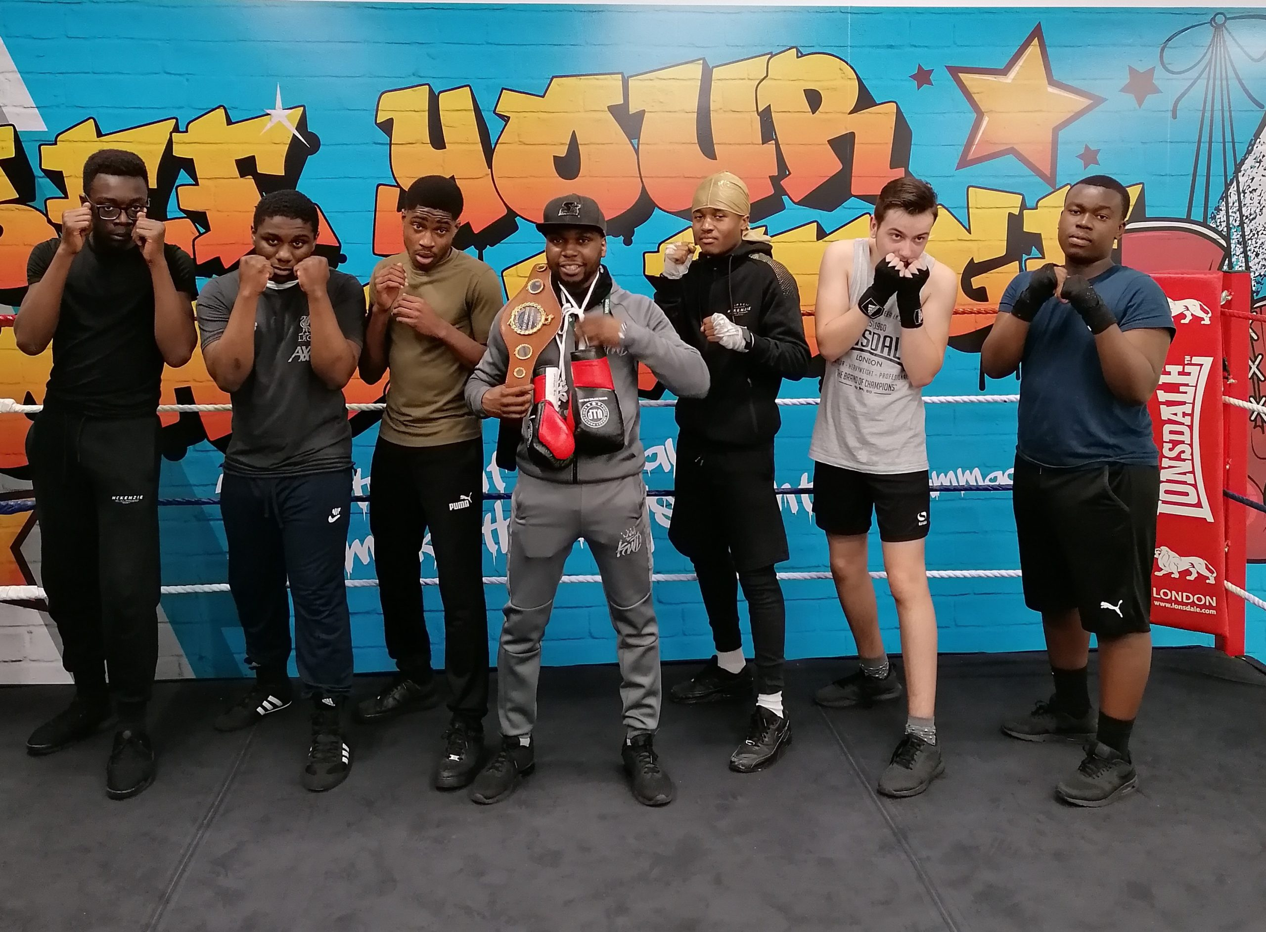 Building confidence through boxing – Future Youth Zone