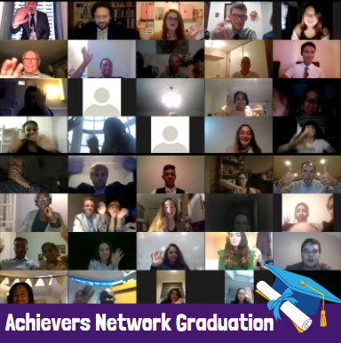 """You were already achievers, and now you're young leaders"" : Achievers Network 8 Graduation"