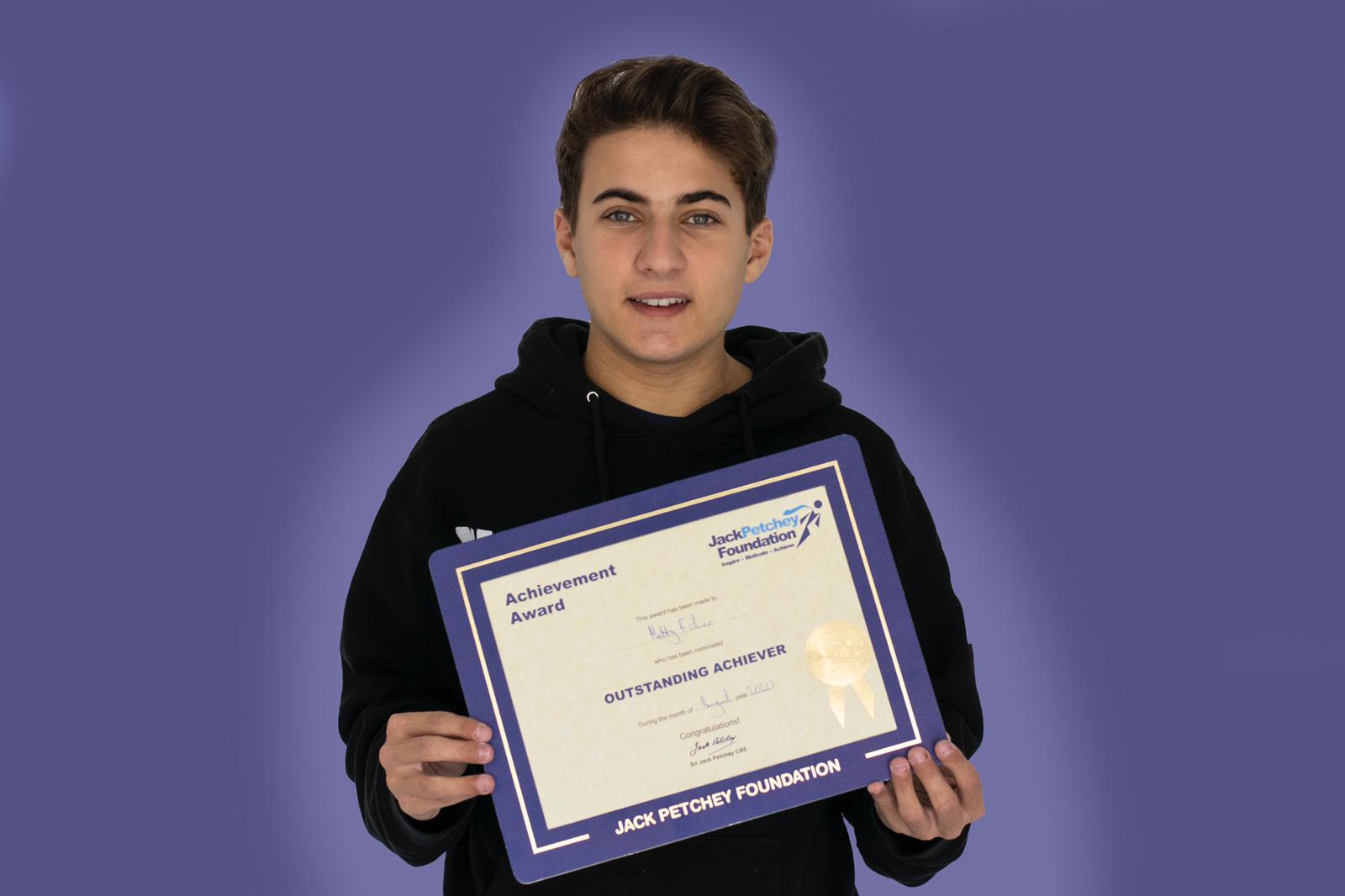Achiever Matty on Raising Awareness of IBD!