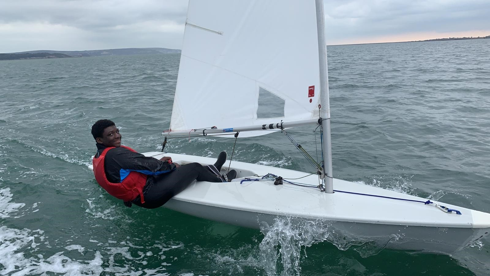 Young Achiever Jaydon on his Sailing Journey