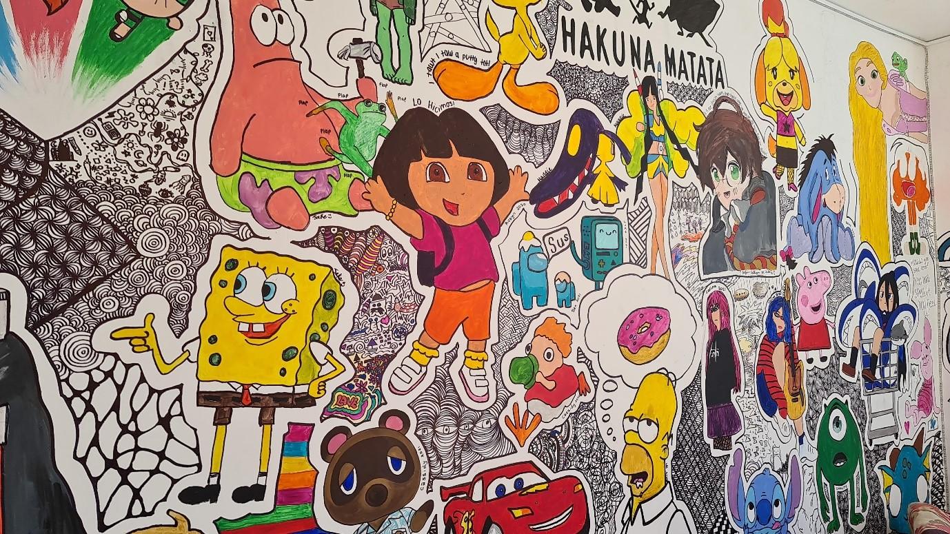 Lockdown Da Vincis: Young Artists Create 'Wall Of Art'